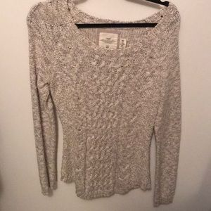 Scoop neck sweater from H&M